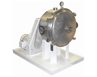 D-26LH Versator – Standard Stainless Steel with drive motor on steel base